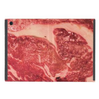 Rohes Fleisch Ribeye Steak-Beschaffenheit Schutzhülle Fürs iPad Mini