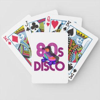 Rollen-Skater-80er Bicycle Spielkarten