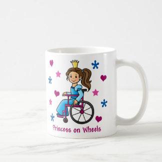 Rollstuhl-Prinzessin Tasse