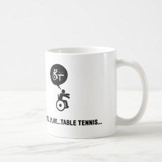 Rollstuhl-Tischtennis Kaffeetasse
