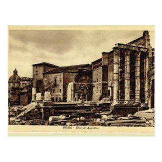 Rom, Forum von Augustus Postkarte