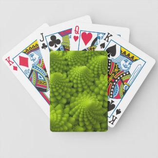 Romanesco Brokkoli-Fraktal-Gemüse Spielkarten