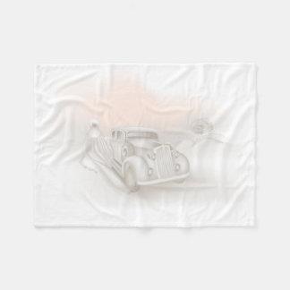 Romantische Hochzeits-kleine Fleece-Decke Fleecedecke