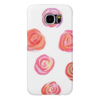 Romantische Rosen, Kasten Samsungs-Galaxie-S6