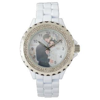 Romantisches Geschenk | Ihr persönliches Foto mit Armbanduhr