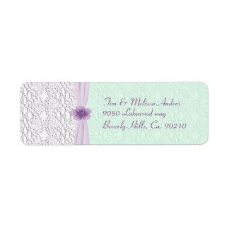 Romantisches Spitze-u. Blumen-, Lavendel-u.