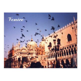 Romantisches Venedig Italien Postkarte