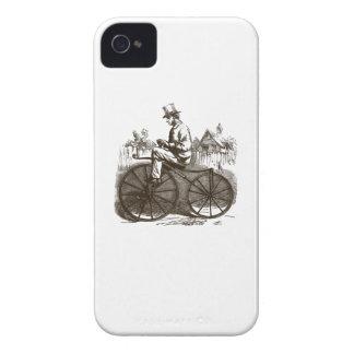 Romantisches Vintages retro braunes nobles altes Case-Mate iPhone 4 Hülle