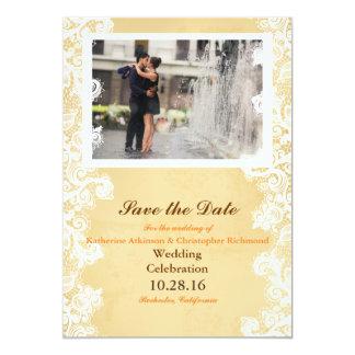 Romanze Kuss der Paare im Brunnen Karte