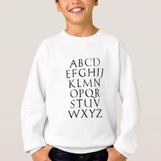 Römische Kapitalien Sweatshirt