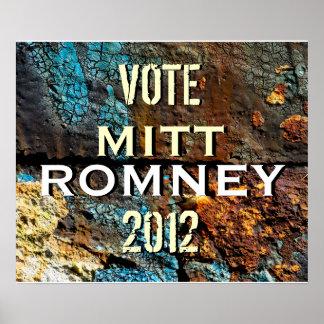 Romney 2012 modernes Kampagnen-Plakat Poster
