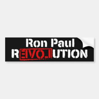 Ron Paul Revolutions-Autoaufkleber Autoaufkleber