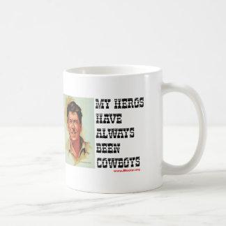 Ronald Reagan - meine Helder sind immer Cowboys Tasse