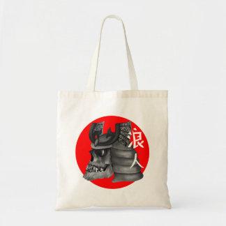 Ronin Samurai-Japaner-Flagge Tragetasche