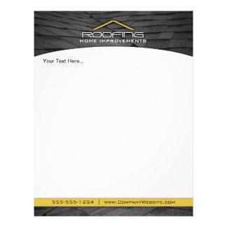 Roofing berufliches Geschäfts-Flyer-Gelb 21,6 X 27,9 Cm Flyer