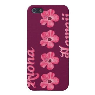 Rosa Aloha Hawaii Etui Fürs iPhone 5