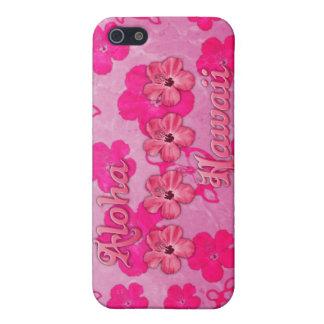Rosa Aloha Hawaii iPhone 5 Schutzhülle