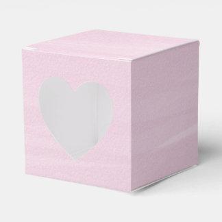 Rosa Aquarell-Bevorzugungs-Kasten Geschenkschachtel