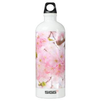 Rosa Baum-Kirschblüte-Kirschblüte Aluminiumwasserflasche