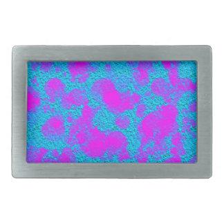 Rosa blaue Beschaffenheits-Rechteck-Neonschnalle Rechteckige Gürtelschnallen