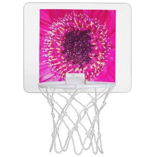 Rosa Blume Mini Basketball Ringe