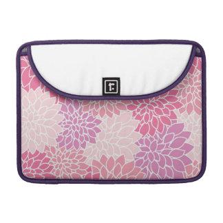 Rosa Blumendruck Macbook Prohülse MacBook Pro Sleeve