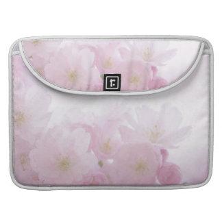 Rosa Blumenfrühjahr-Blumen Macbook Prohülse MacBook Pro Sleeve