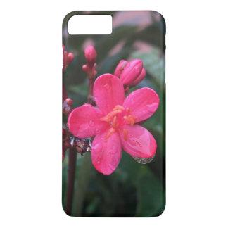 Rosa BlumenIphone 7 Fall iPhone 7 Plus Hülle