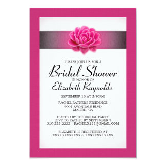 Rosa Brautparty-Einladungen 12,7 X 17,8 Cm Einladungskarte