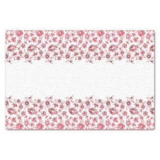 Rosa Bündel Blumen Seidenpapier