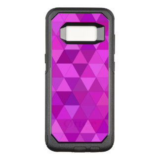 Rosa Dreiecke OtterBox Commuter Samsung Galaxy S8 Hülle