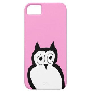 Rosa Eule iphone Fall iPhone 5 Cover