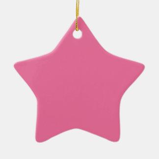Rosa Farbe Keramik Ornament