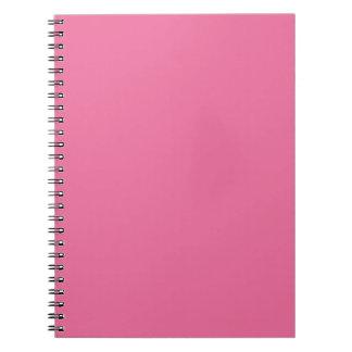 Rosa Farbe Notizblock