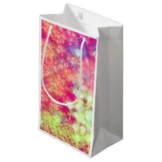 Rosa Feuerwerks-Geschenk-Tasche Kleine Geschenktüte