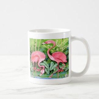 Rosa Flamingo-Entwurf Kaffeetasse