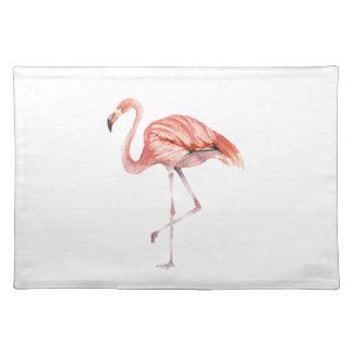 Rosa Flamingo Tischset