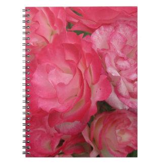 Rosa Gartennelken Notizblock