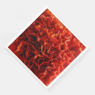 Rosa Gartennelken-Servietten Papierserviette