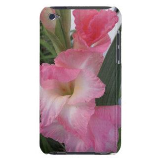 Rosa Gladiolus-Blumen iPod Touch Case-Mate Hülle