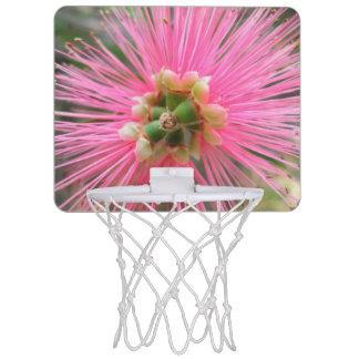 Rosa Gummi-Baum-Blume Mini Basketball Ring
