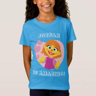 Rosa Herz des Sesame Street-  Julia T-Shirt