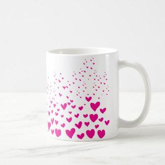 Rosa Herzen Tasse