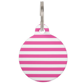 Rosa horizontale Streifen Tiermarken