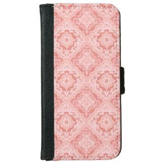 Rosa Kasten der iPhone 6 Geldbeutel Hülle