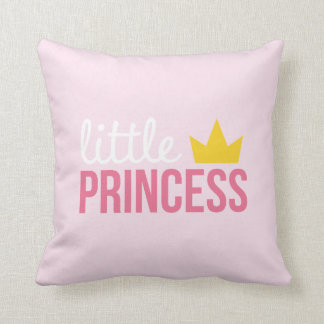 Rosa kleine Prinzessin Pillow Kissen