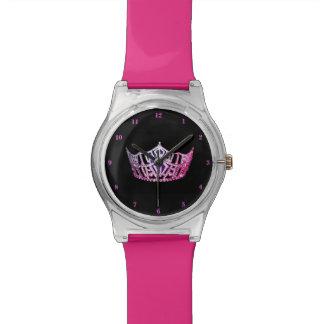 Rosa Krone Miss Amerikas Uhr-Rosa Uhr