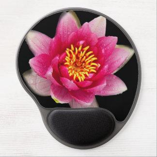 Rosa Lilien Gel Mousepad