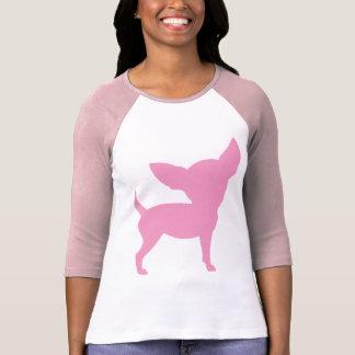 Rosa lustige Chihuahua T-Shirt