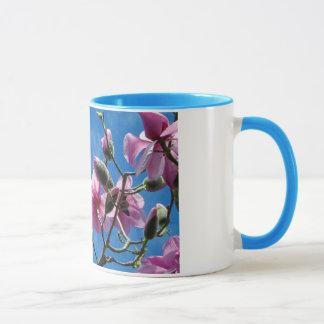Rosa Magnolie blüht Kaffee-Tasse Tasse